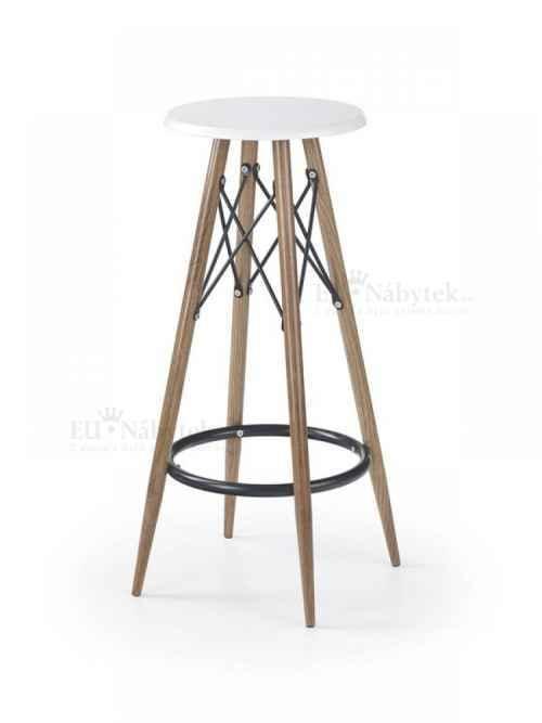 Barová židle H-68 bílá
