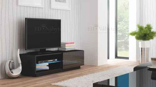 RTV stolek LIVO 120 černá lesk
