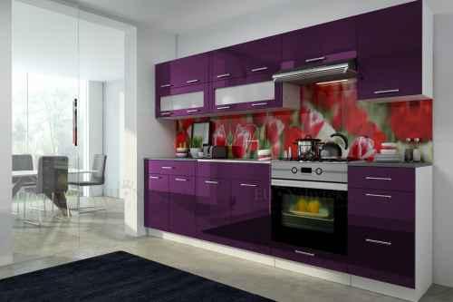 Kuchyňská linka DIAMOND II 260 fialová
