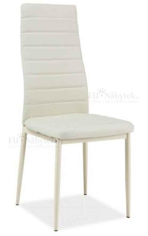 Jídelní čalouněná židle H-261 Bis krém/krém DOPRODEJ