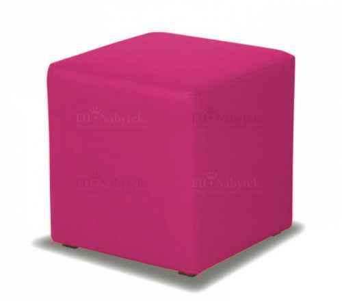 Taburet CUBE purpurová látka