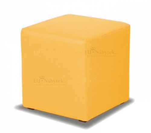 Taburet CUBE žlutá látka
