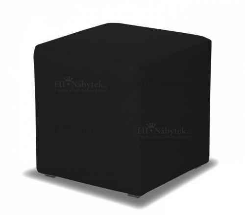 Taburet CUBE černá látka