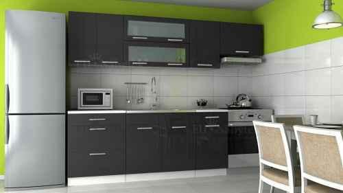 Kuchyňská linka DIAMOND 240 černá