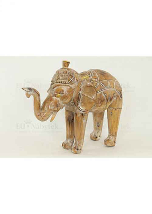 Dřevořezba - slon