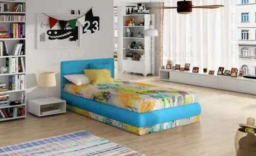 Dětská postel KIRI s polohovacím roštem