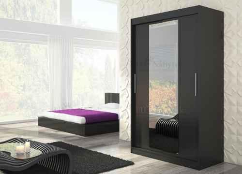 Šatní skříň ELLEN 150 černá