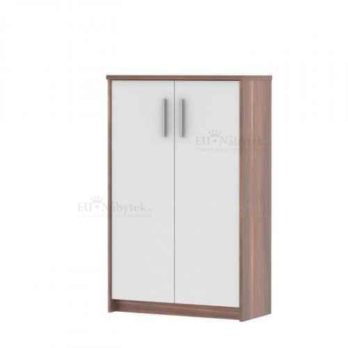 Kancelářská skříňka, švestka / bílá, JOHAN NEW 13