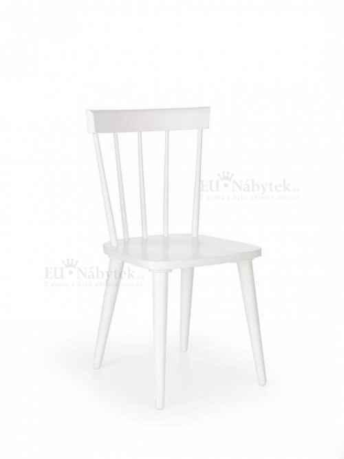 Jídelní židle BARKLEY bílá