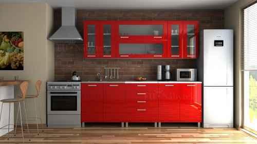 Kuchyňská linka REGINA 220 červená