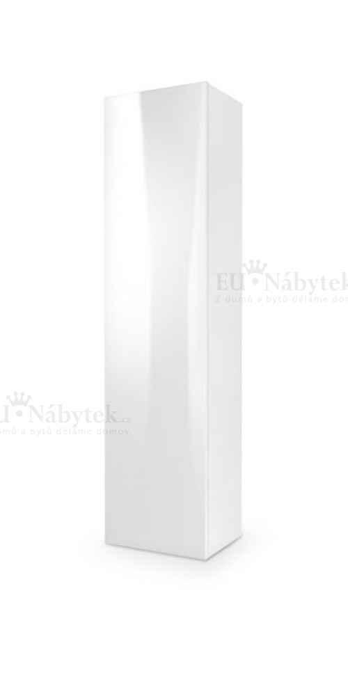 Skříňka LIVO bílá vysoký lesk