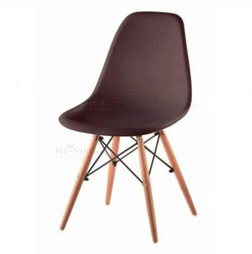 Židle, tmavohnědá / buk, CINKLA 2 NEW