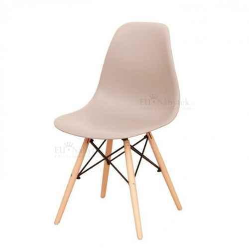 Židle, teplá šedá / buk, CINKLA 2 NEW