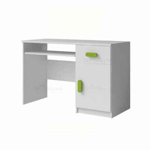 PC stůl, bílá, SVEND TYP 8