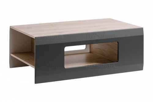 Konferenční stolek CLEOPATRA dub san remo / grafit