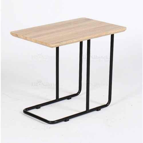 Příruční stolek, dub sonoma / černá, CAMERO