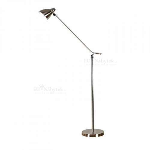 Stojací lampa, železo / nikl, CINDA TYP 8
