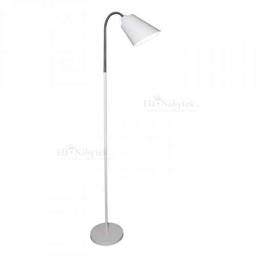Stojací lampa, bílá, JADE Typ 1
