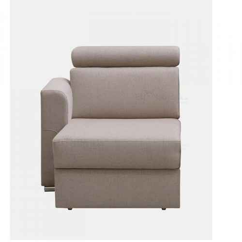 Otoman OTT 1B ZP na objednávku k luxusní sedací soupravě, béžová, levý, MARIETA