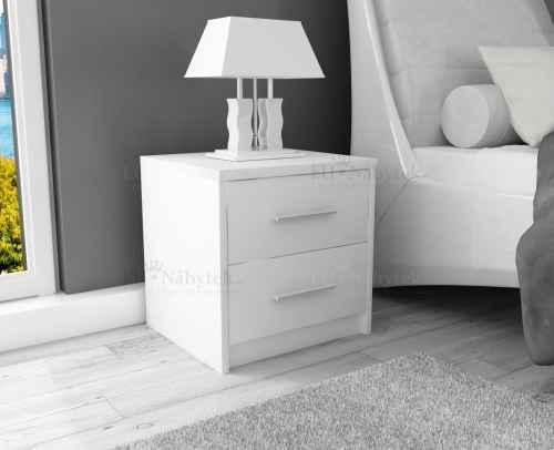 Noční stolek SANDRA bílá