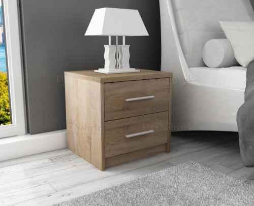 Noční stolek SANDRA sonoma