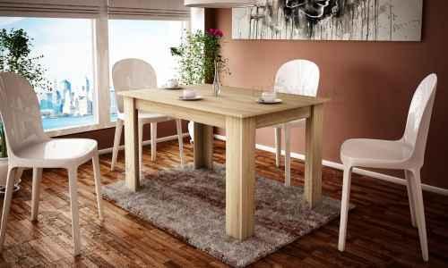 Jídelní stůl SANDRA 120 sonoma