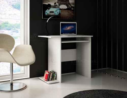 PC stůl SANDRA 80 bílá
