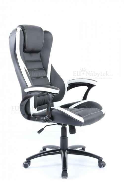 Kancelářské křeslo IDA 119 BW černá / bílá