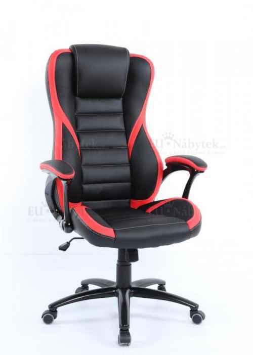 Kancelářské křeslo IDA 119 BR černá / červená
