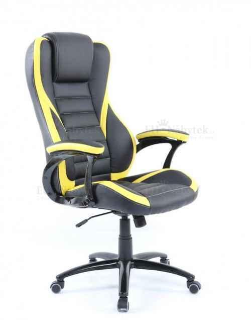 Kancelářské křeslo IDA 119 BY černá / žlutá