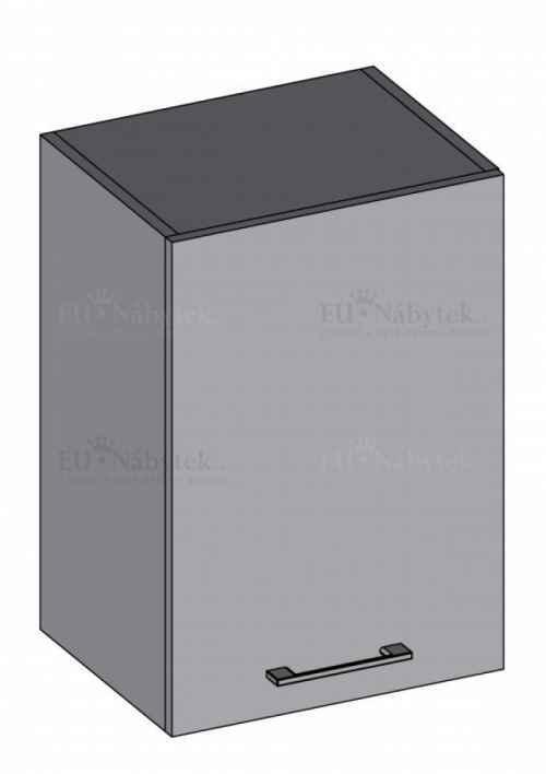Kuchyňská skříňka DIAMOND, horní 40 cm, bílá - diamond skříňky bílá