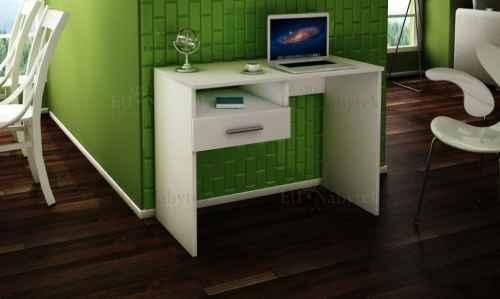 PC stůl SANDRA 1S 100 bílá