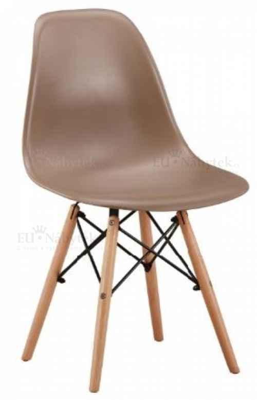 Skandinávská židle AMI béžová