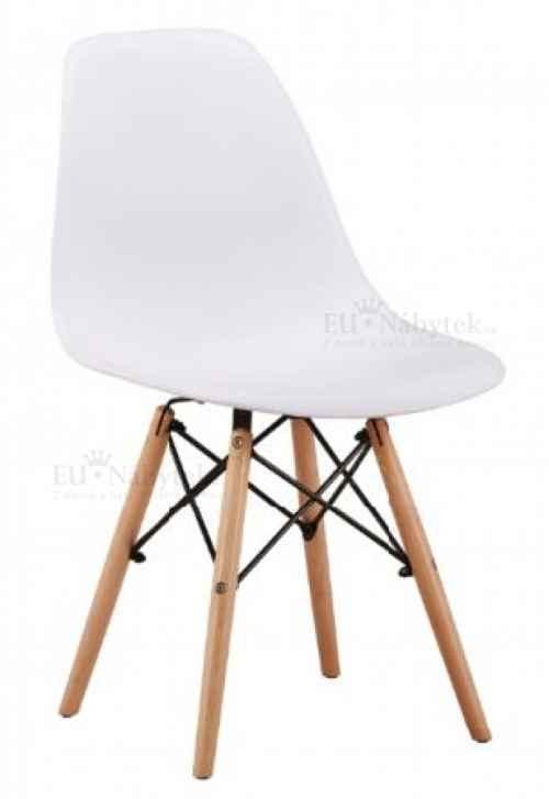 Skandinávská židle AMI bílá