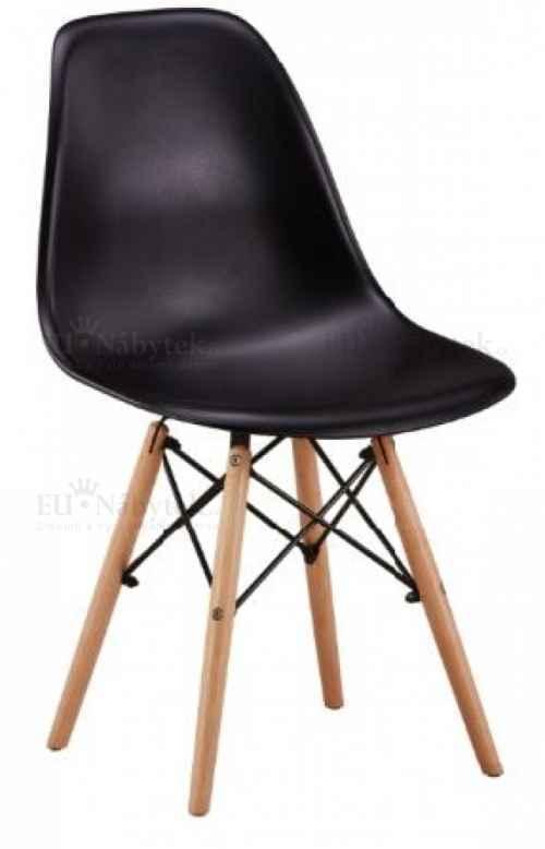 Skandinávská židle AMI černá DOPRODEJ