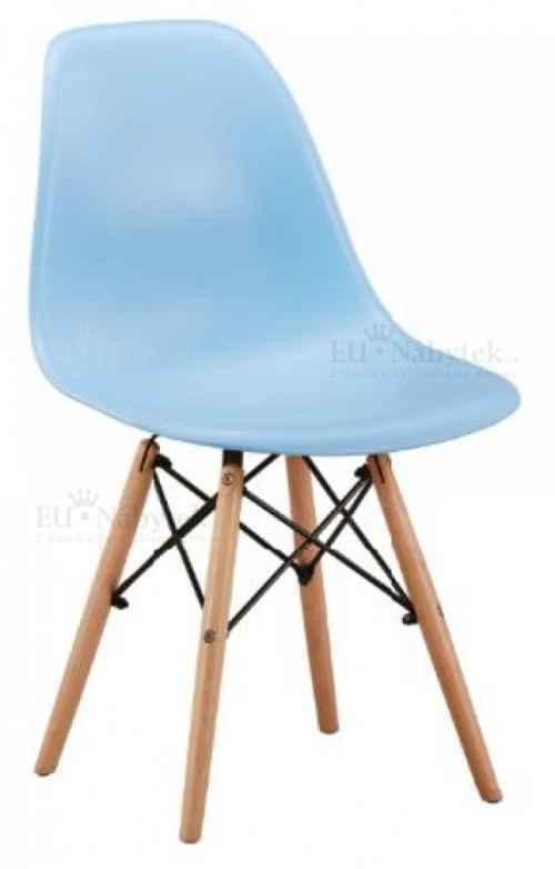 Skandinávská židle AMI modrá