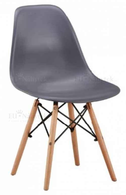 Skandinávská židle AMI tmavě šedá
