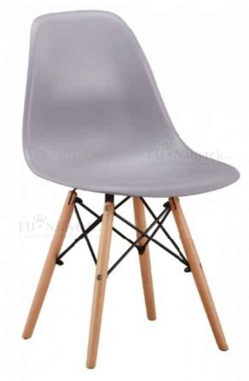 Skandinávská židle AMI světle šedá