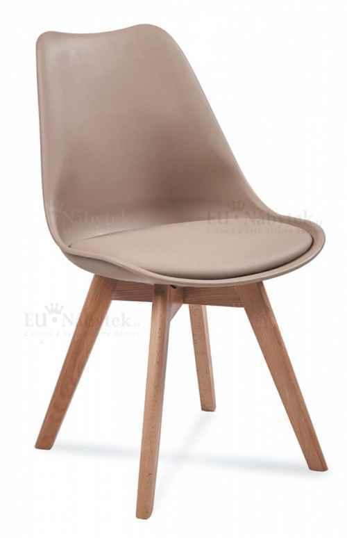 Skandinávská židle FORD béžová