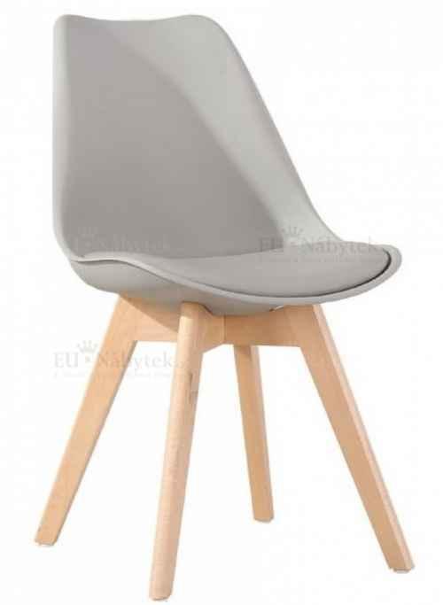 Skandinávská židle FORD světle šedá
