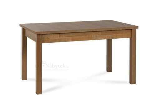 Rozkládací jídelní stůl ARNOLD 120 dub burgundský