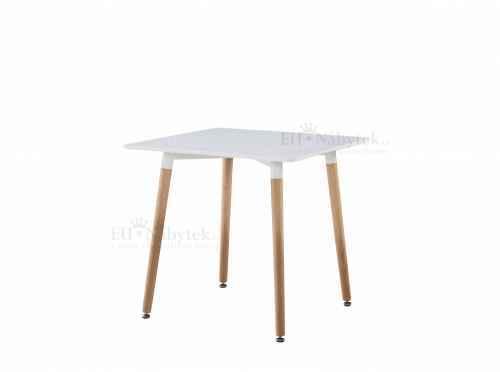 Jídelní stůl HANI 2 80 buk / bílá DOPRODEJ