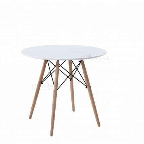 Jídelní stůl HANI 3 80 buk / bílá DOPRODEJ