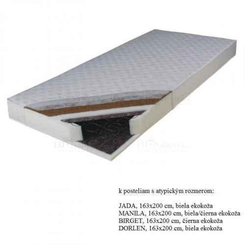 Matrace, pružinová, 163x200, KOKOS MEDIUM