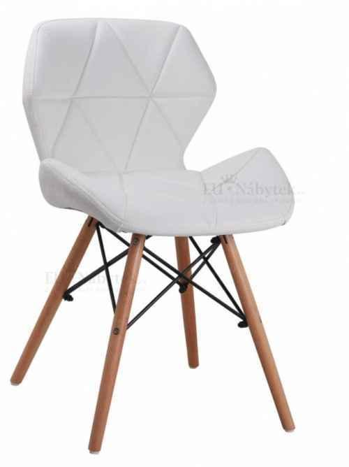 Skandinávská židle LIOTTE bílá