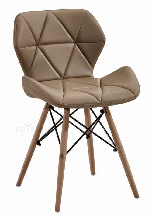 Skandinávská židle LIOTTE cappucino