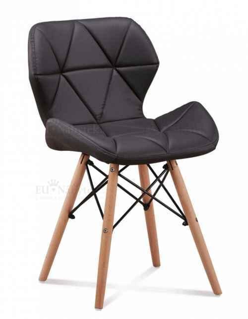 Skandinávská židle LIOTTE černá