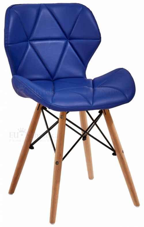 Skandinávská židle LIOTTE modrá