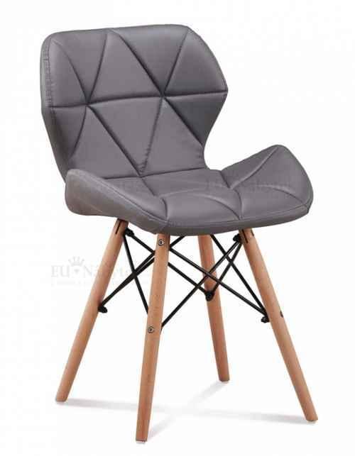 Skandinávská židle LIOTTE šedá DOPRODEJ