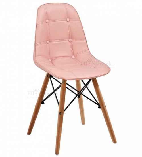 Skandinávská židle SASSY růžová